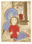 view Little Girl in a Room digital asset number 1