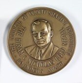 view Hiram C. Nicholas Gold Medal, Founder's Award, The Council of Profit Sharing Industries digital asset number 1