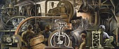 view Automotive Industry (mural, Detroit Public Library) digital asset number 1