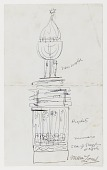 view (Untitled) (study for Monument to Six Million Jews Destroyed in Germany by the Nazis) #1 digital asset number 1