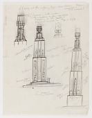 view (Untitled) (study for Monument to Six Million Jews Destroyed in Germany by the Nazis) #2 digital asset number 1