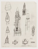 view (Untitled) (study for Monument to Six Million Jews Destroyed in Germany by the Nazis) #3 digital asset number 1