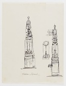 view (Untitled) (study for Monument to Six Million Jews Destroyed in Germany by the Nazis) #5 digital asset number 1