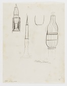 view (Untitled--Burning Menorah and Star) (study for the Monument to Six Million Jews Destroyed in Germany by the Nazis) #9 digital asset number 1