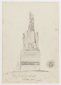 view (Untitled) (study for Monument to Six Million Jews Destroyed in Germany by the Nazis) #12 digital asset number 1