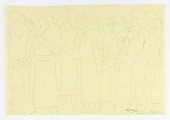 view Study for Panel of Monument to Six Million Jews Destroyed by the Nazis in Germany digital asset number 1