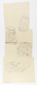 view (Untitled) (study for relief panel) digital asset number 1