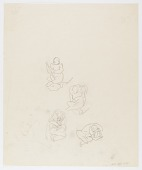 view (Untitled--Study of Four Figures) digital asset number 1