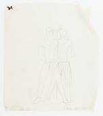view (Untitled--Standing Male and Female Figure Group) digital asset number 1