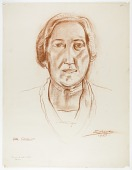 view Etta Cone (study drawing for sculpture portrait, Baltimore Museum of Art) digital asset number 1