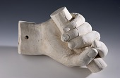 view Cast of an Unidentified Right Hand Grasping a Rod digital asset number 1