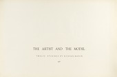 view (The Artist and the Model, portfolio) Title Sheet digital asset number 1