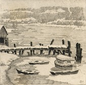 view Winter on the Anacostia digital asset number 1