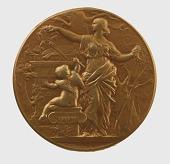 view Société des Artistes Français, Salon de 1901, Médaille de 2me Classe Peinture Awarded to Mr. H. Hartwich digital asset number 1