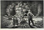view Burning Cotton Stalks digital asset number 1