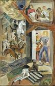 view The Fugitive Slave (mural study) digital asset number 1