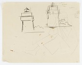 view (Lighthouses and Figure) digital asset number 1