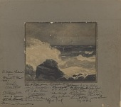 view Untitled (Rocky Coast Line) digital asset number 1