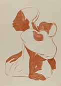 view Mother with Child on Back digital asset number 1