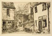 view La Rue de la Prison, Morlaix, Brittany, France digital asset number 1
