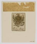 view Theodore Atkinson Bookplate digital asset number 1
