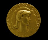 """view Betrothal Medal, """"Ceres' Blessing So Is On You,"""" Struck for the Society of Medalists--20th Issue digital asset number 1"""