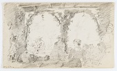 view Untitled (Seated Figures and Musicians) digital asset number 1