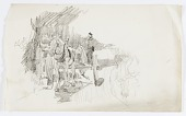 view Untitled (Horse Drawn Cart) digital asset number 1