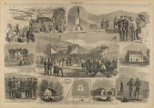 view The Ceremonies of Dedication of the National Cemetery on the Battlefield of Antietam, MD, from Harper's Weekly, October 5, 1867 digital asset number 1