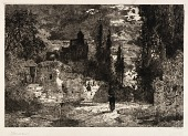 view (Old Castle and Trees) digital asset number 1