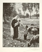 view Mary Meets a Shepherd Boy digital asset number 1