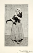 view Girl with Cat digital asset number 1