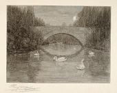 view Evening, Swan Lake, Central Park, New York digital asset number 1
