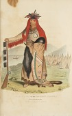 view WAA-NA-TAA or the Foremost in Battle; Chief of the Sioux Tribe, from The Aboriginal Portfolio digital asset number 1