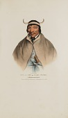 view SUN-A-GET or Hard Times; A Pottawatomie Chief, from The Aboriginal Portfolio digital asset number 1
