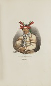 view CAA-TAA-KE MUNG-GA or the Speckle'd Loon, A Miami Chief, from The Aboriginal Portfolio digital asset number 1