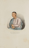 view A Winnebago Squaw; Wife of O'-CHECK-KA or Four Legs, from the Aboriginal Portfolio digital asset number 1