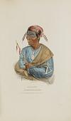 view ME-NO-QUET; A Distinguished Pottowattomie Chief, from The Aboriginal Portfolio digital asset number 1