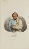 view SHE-SHEBA or The Little Duck; A Celebrated Winnebago Chief, from The Aboriginal Portfolio digital asset number 1
