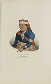 view KEE-O-TUCK-KEE; A Pottowattomie Chief, from The Aboriginal Portfolio digital asset number 1