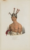 view WAA-KAUN-SEE-KAA or the Rattle Snake; A Winnebago Chief, from The Aboriginal Portfolio digital asset number 1