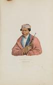 view CAN-NO-SA-QUA; A Pottowattomie Chief, from The Aboriginal Portfolio digital asset number 1