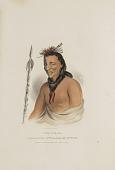 view TSHU-GU-GA; A Celebrated Chief half Winnebago and half French, from The Aboriginal Portfolio digital asset number 1
