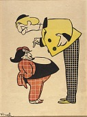 view Joseph Webber and Lew Fields from the series, Portraits in Caricature of Stage Personalities digital asset number 1