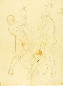 view Moses, Aaron and Hur on Mount Horeb (nude study) digital asset number 1