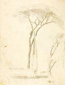 view (Studies--Villa Borghese, 2 figures, etc.) digital asset number 1