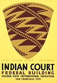 view Pomo Indian Basket, California digital asset number 1