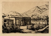 view Houses Along the Irrigation Ditch digital asset number 1