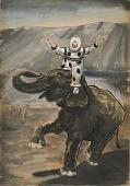 view Clown Elephants digital asset number 1