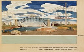 view Aspects of the American Industrial Scene (mural study for U.S. Department of Labor, Washington, D.C. ) digital asset number 1